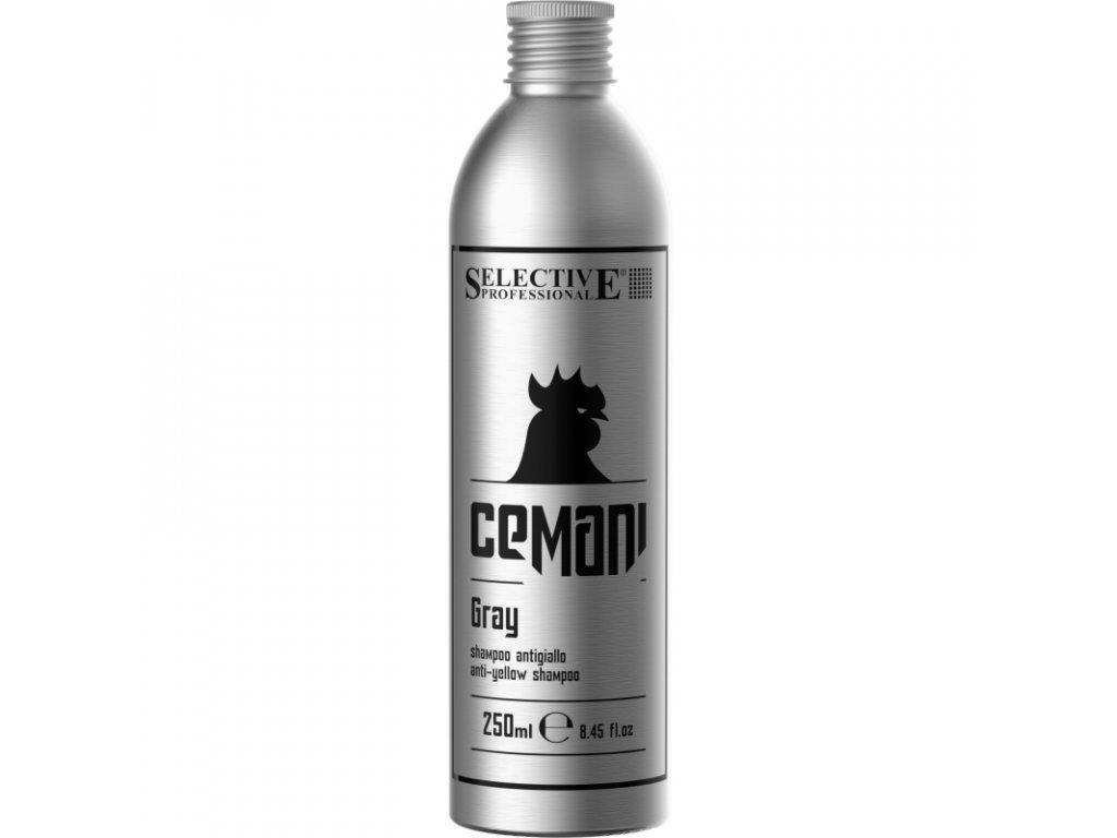 gray shampoo 250ml sampon proti zlutemu zbarveni