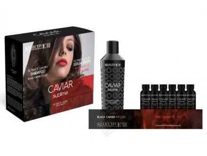 luxusni set red caviar infused