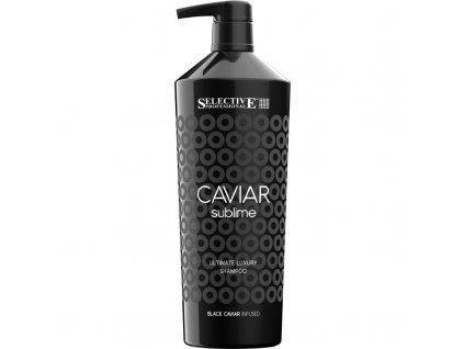 caviar ultimate luxury shampoo 1000ml revitalizacni sampon pro cisteni do hloubky a revitalizaci vlasu