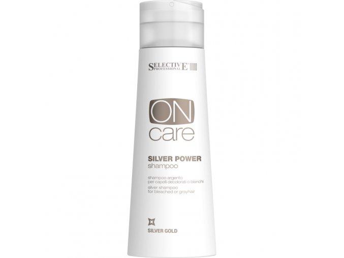 silver power shampoo stribrny sampon pro odbarvene nebo sedive vlasy 250ml