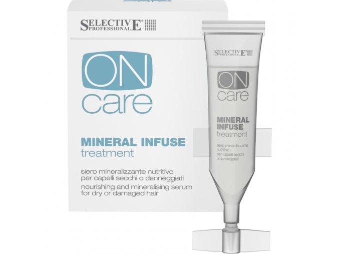 mineral infuse vyzivne serum pro suche nebo poskozene vlasy 10x10ml