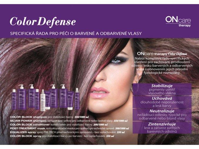 color block shampoo sampon pro stabilizaci barvy 750ml