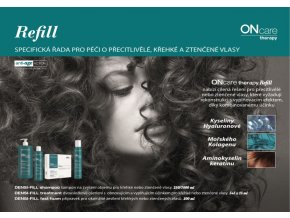 densi fill shampoo 250ml sampon pro zvyseni objemu hustotu a regeneraci vlasu